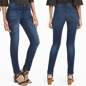 White House Black Market Skinny Utility Jeans